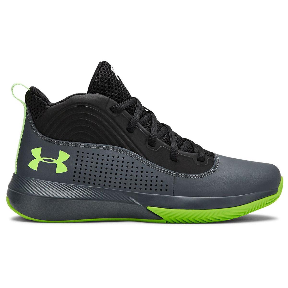 Under Armour Boys' Lockdown Grade School Basketball Shoes
