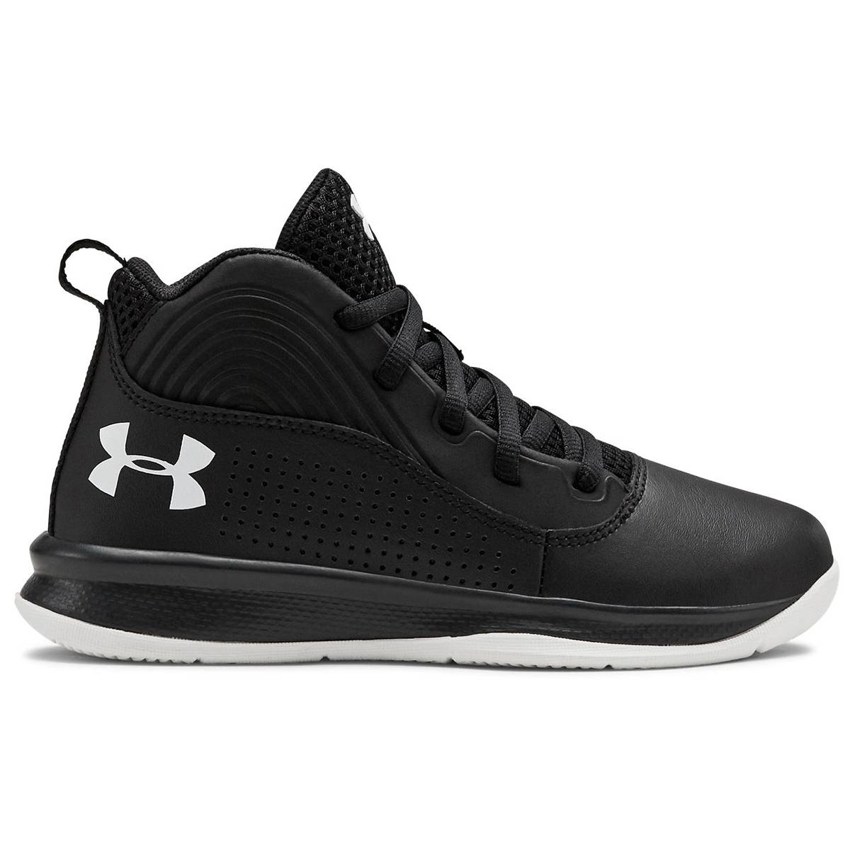 Under Armour Little Boys' Lockdown 4 Preschool Basketball Shoes