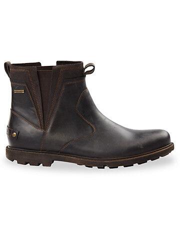 Rockport Big & Tall Rockport Chelsea Boots - Dark Brown