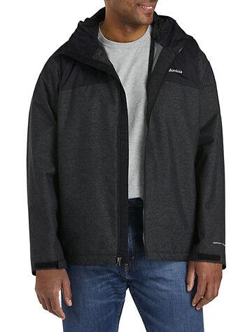 Columbia Big & Tall Columbia Ridge Gates Jacket - Black Denim Twill