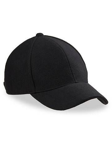 New York Accessory Big & Tall New York Accessories Baseball Cap - Black