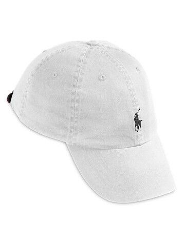 Ralph Lauren Big & Tall Polo Ralph Lauren XL Baseball Cap - White