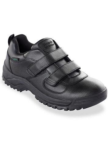 Propet Big & Tall Propet Cliff Walker Low-Strap Walking Shoes - Black