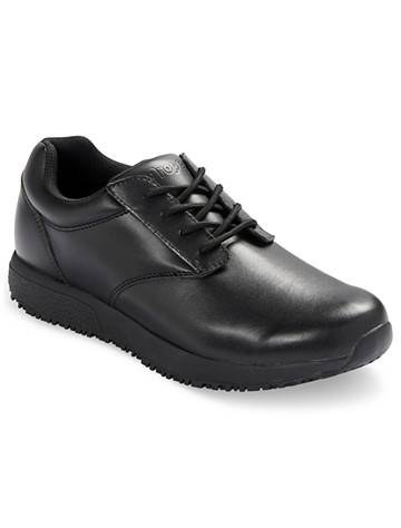 Propet Big & Tall Propet Spencer Lace-Up Work Shoes - Black