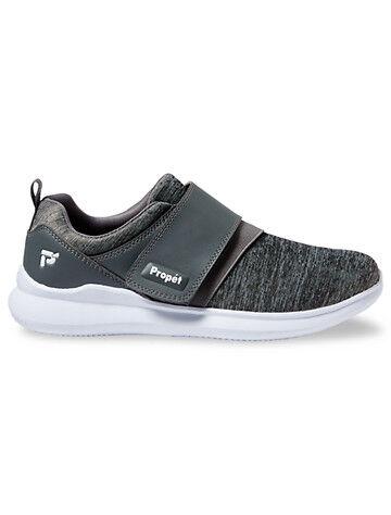 Propet Big & Tall Prop t Viator Modern Monk Walking Shoes - Grey
