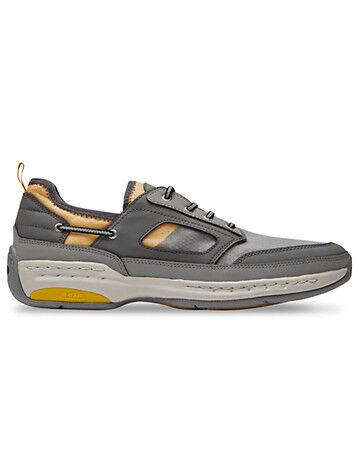 Dunham Big & Tall Dunham Captain Sport Boat Shoes - Grey