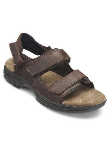 Dunham Big & Tall Dunham St. Johnsbury 3 Strap Sport Sandals - Brown