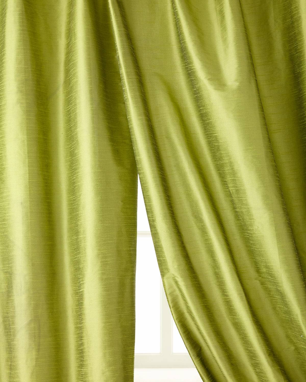 "Home Silks 96""L Manhattan Curtain"