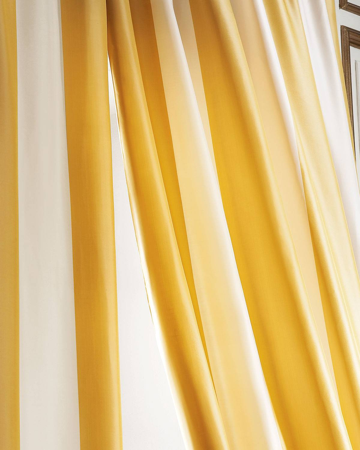 "Home Silks Each Hampton Curtain, 120""L"