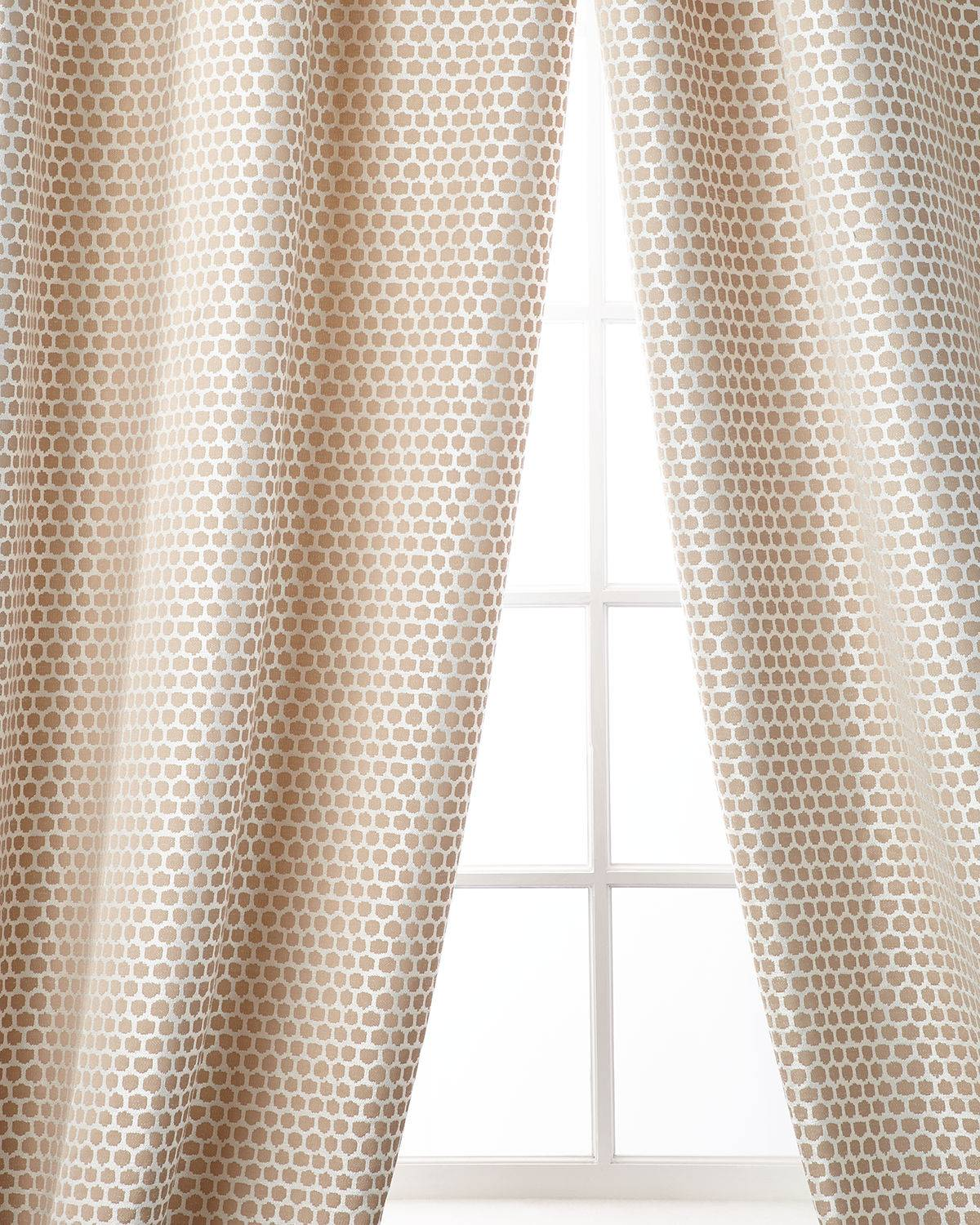 Home Silks Chancery Curtain Panel, 96""