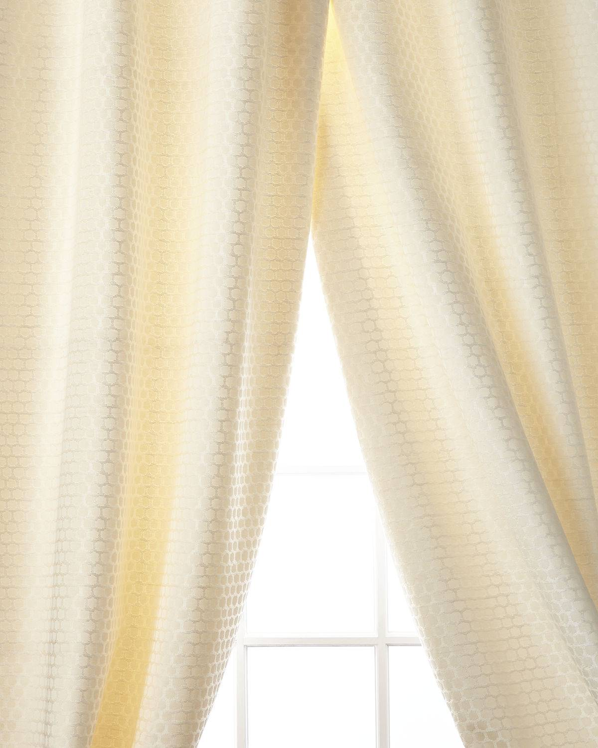 Home Silks Chancery Curtain Panel, 108""