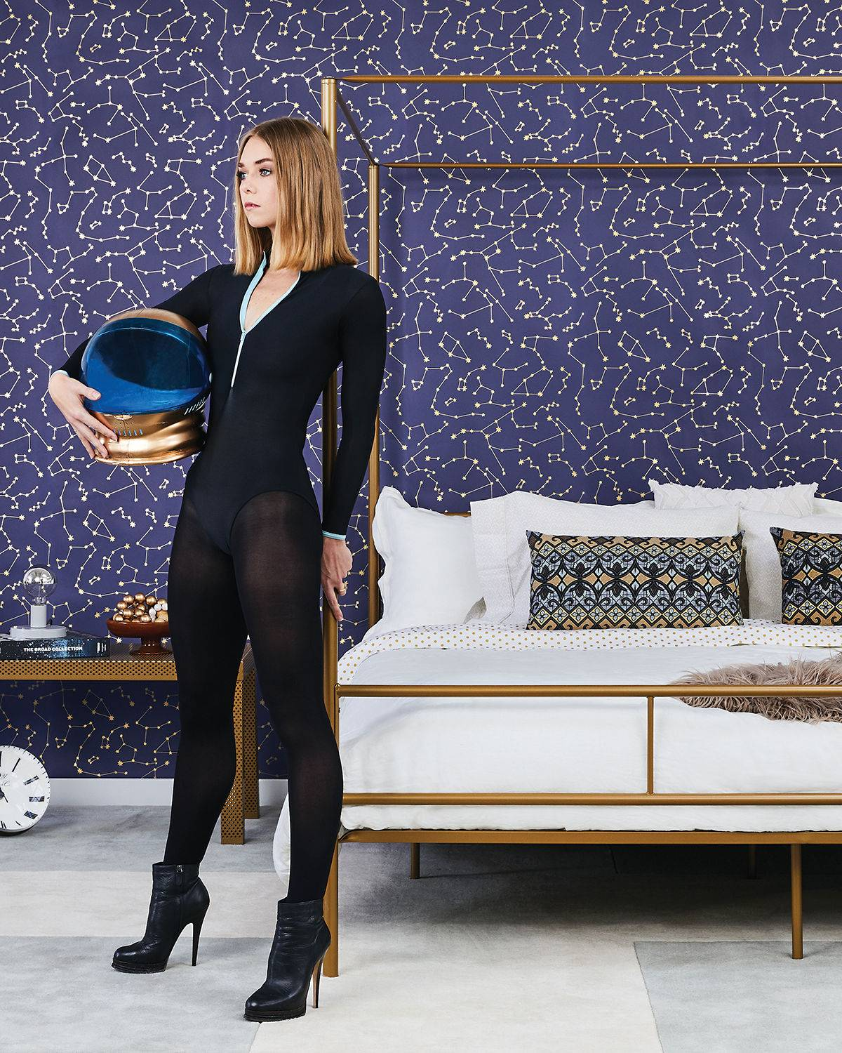 Tempaper Constellations Removable Wallpaper