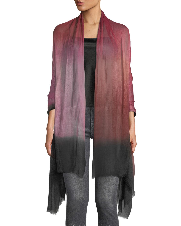 Bindya Accessories Color Blend Modal-Silk Stole