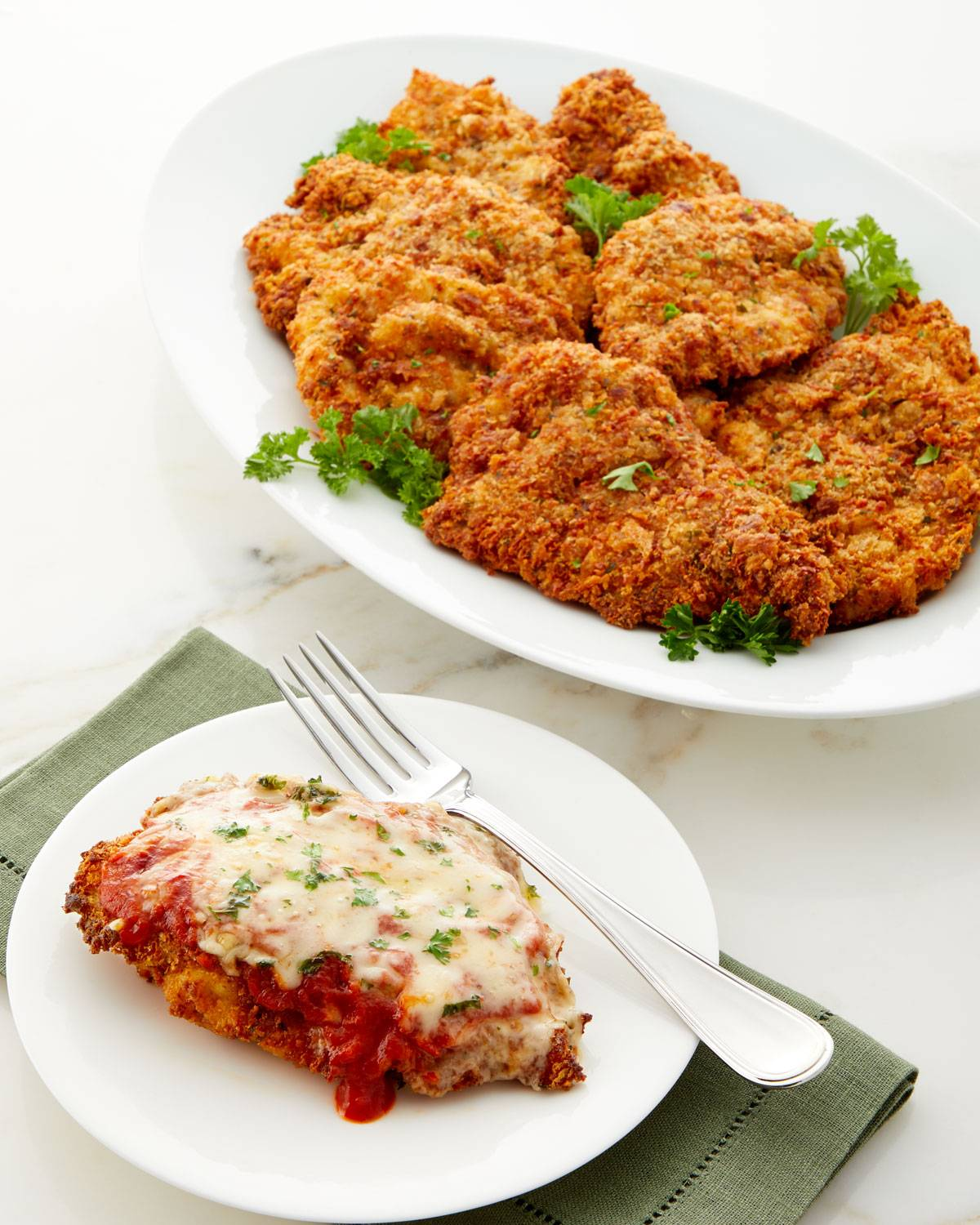Culinaire Parmesan Crusted Chicken Breasts, Set of 8