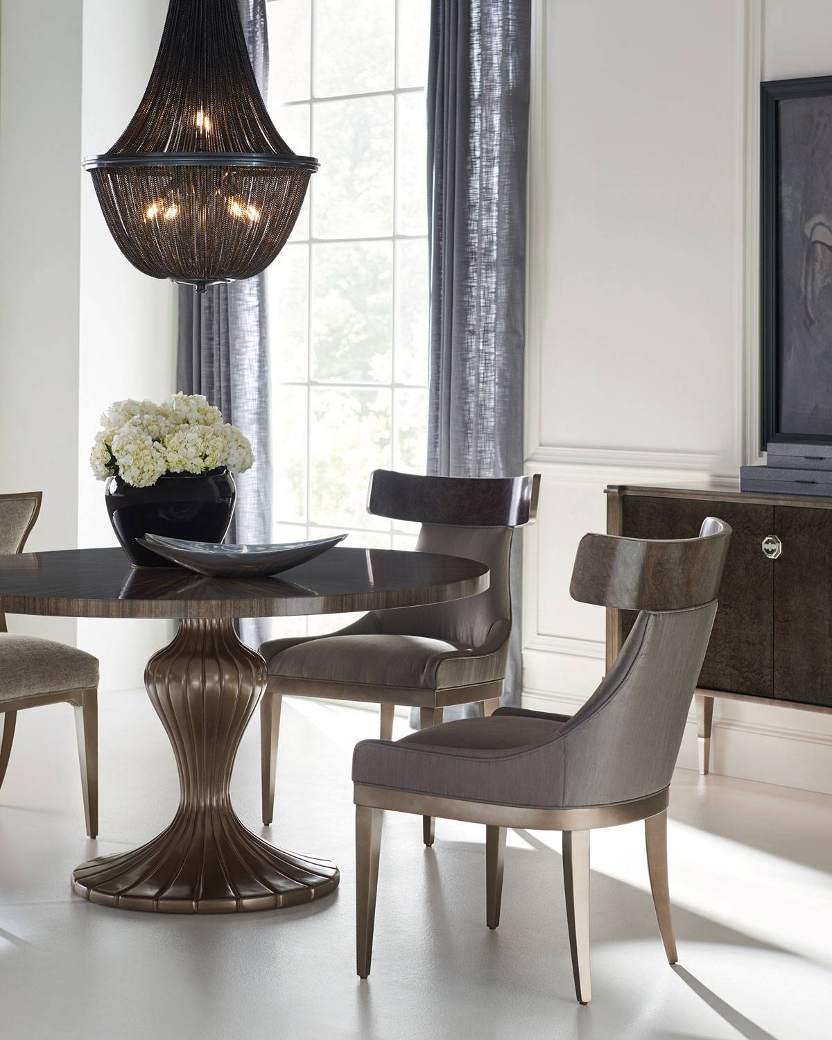 caracole Gathered Around Dining Banquette