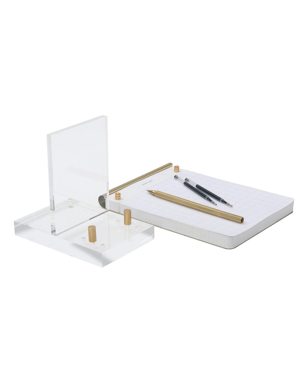 russell+hazel Brass Desk Accessory Bundle