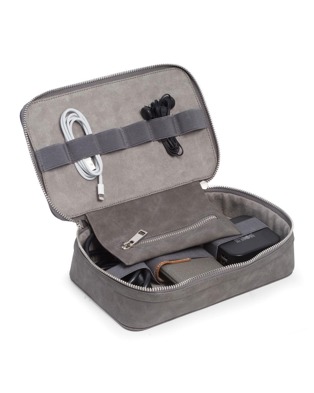 Bey-Berk Tech Accessory Travel Case/Toiletry Bag