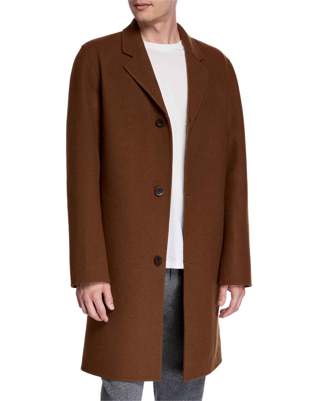Vince Men's Wool Car Coat