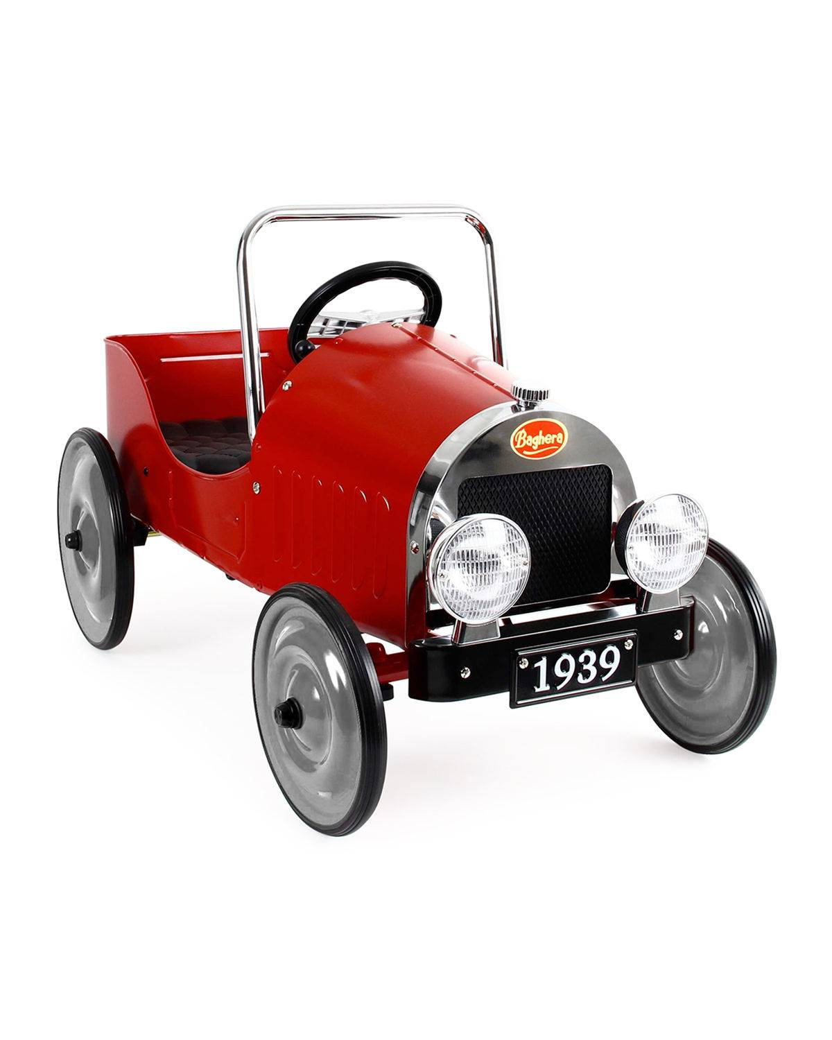Baghera 30s-Style Classic Pedal Ride-On Car