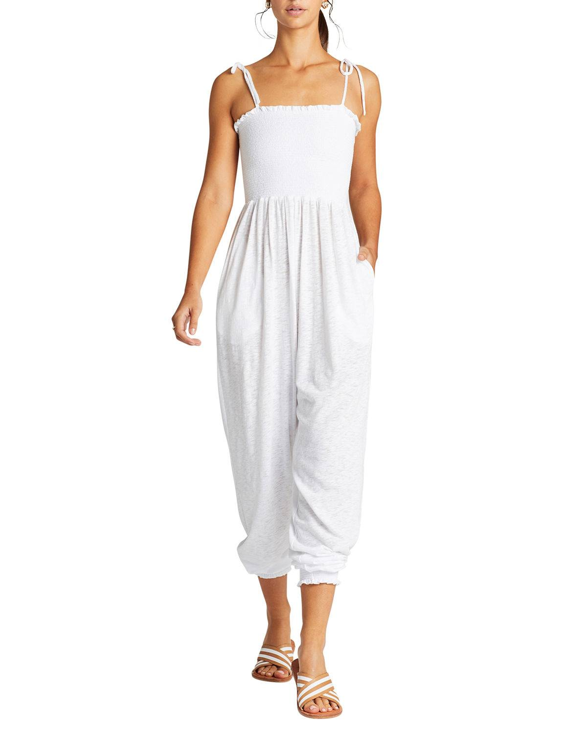 Vitamin A Moonlight Coverup Jumpsuit - Size: Small