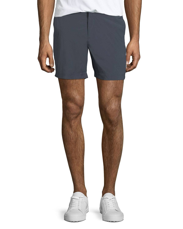 Orlebar Brown Men's Bulldog Sport Shorts, Black - Size: 36