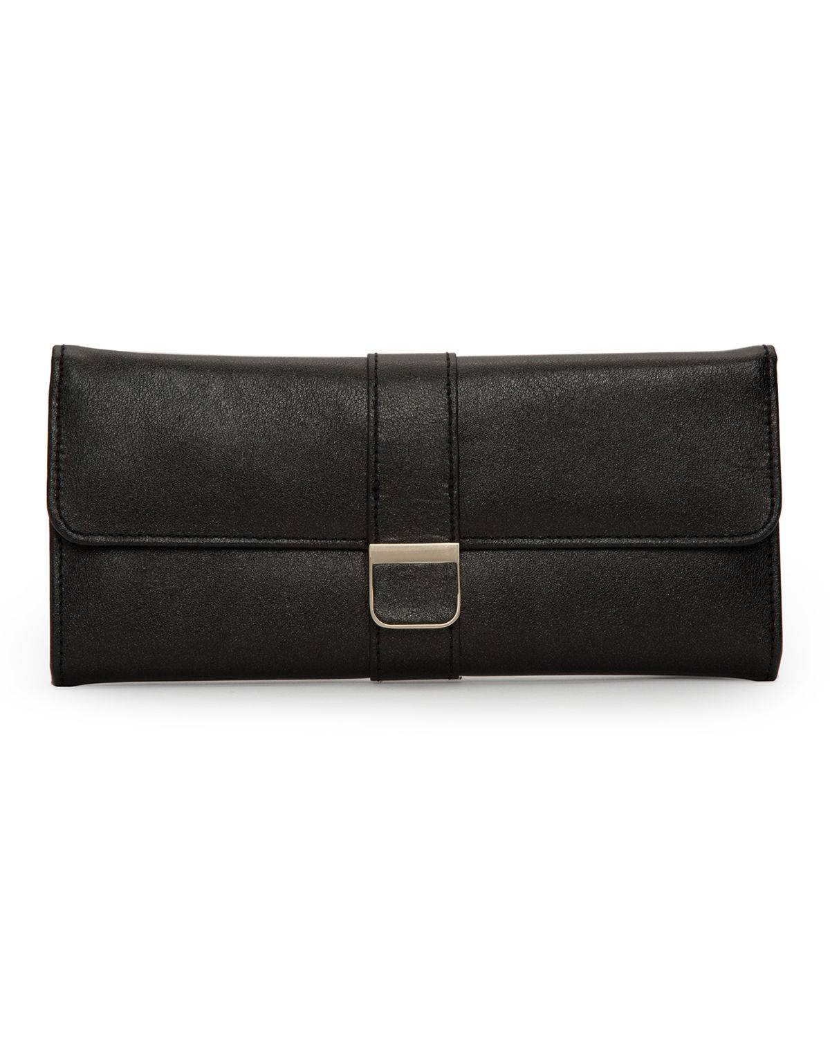 WOLF Palermo Jewelry Roll - ANTHRACITE