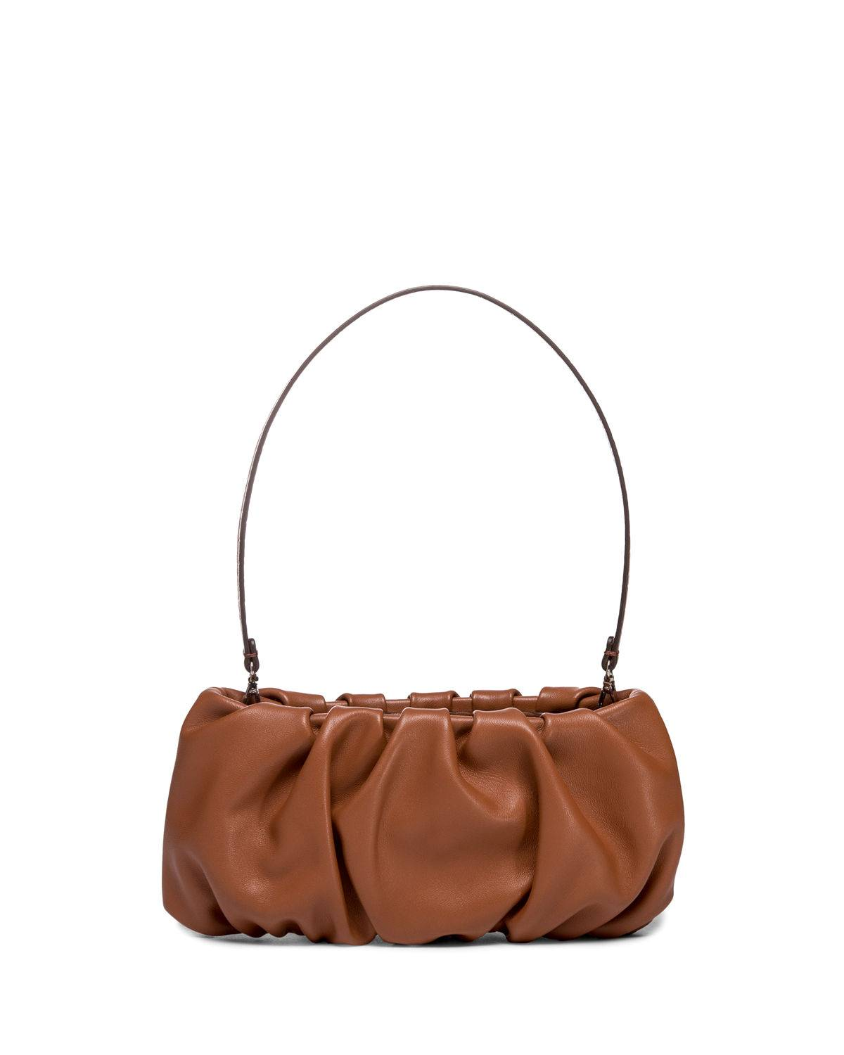 Staud Bean Convertible Leather Clutch Bag