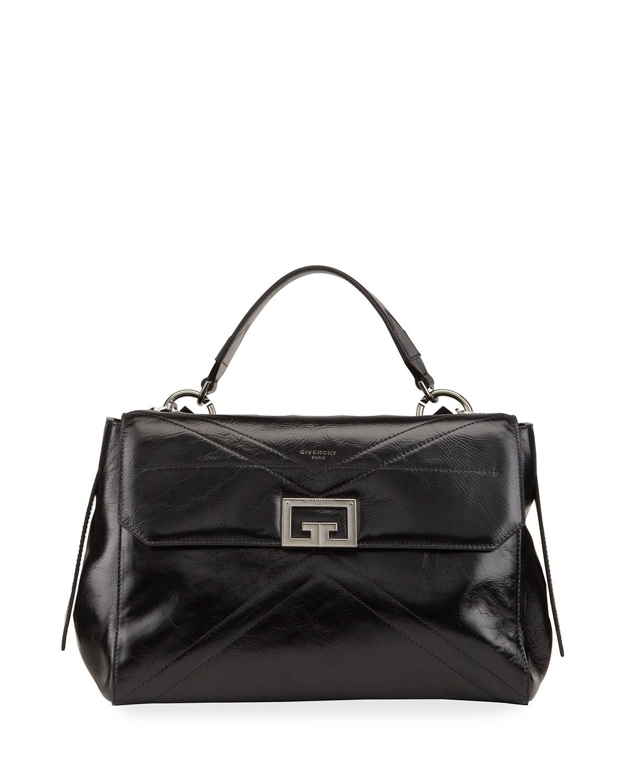 Givenchy ID Medium Vintage Leather Shoulder Bag