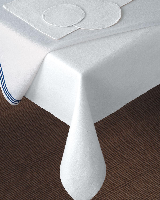 "Matouk 106"" Round Dining Table Pad"