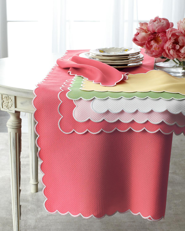 "Matouk Savannah Gardens Tablecloth, 108"" Round"