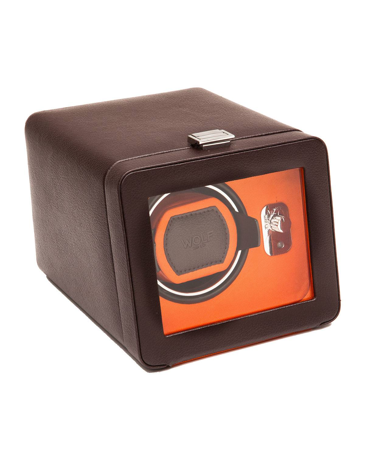 WOLF Windsor Single Watch Winder with Cover