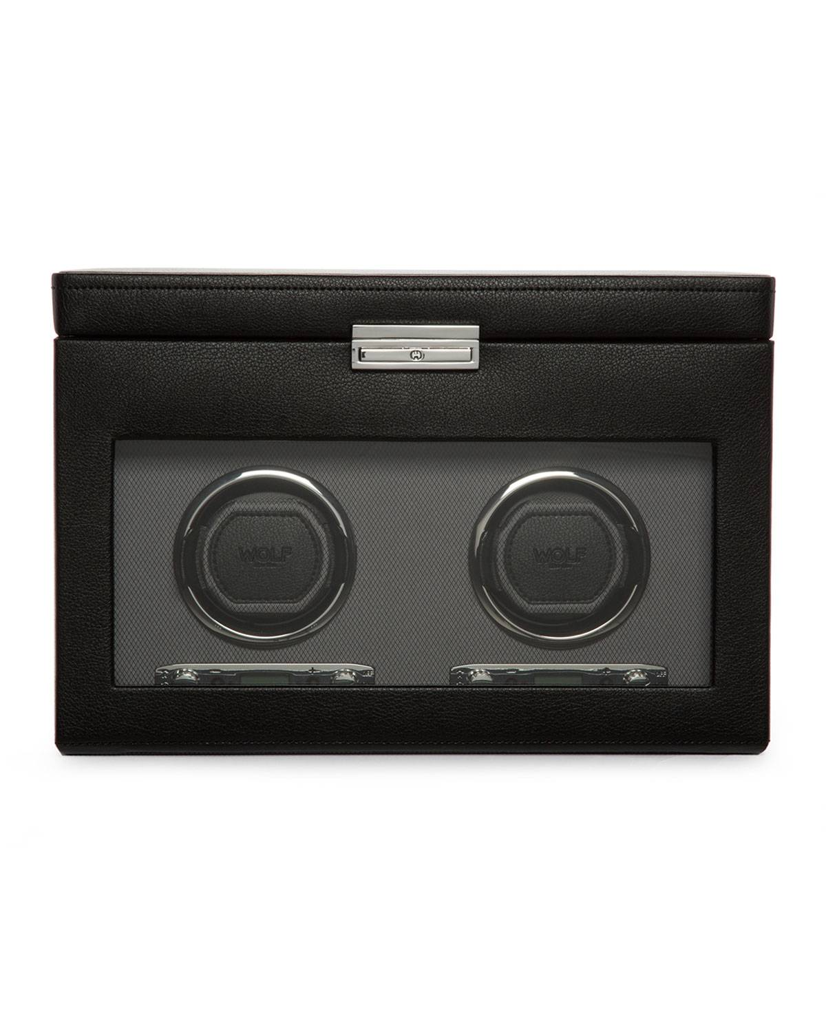 WOLF Viceroy Double Watch Winder