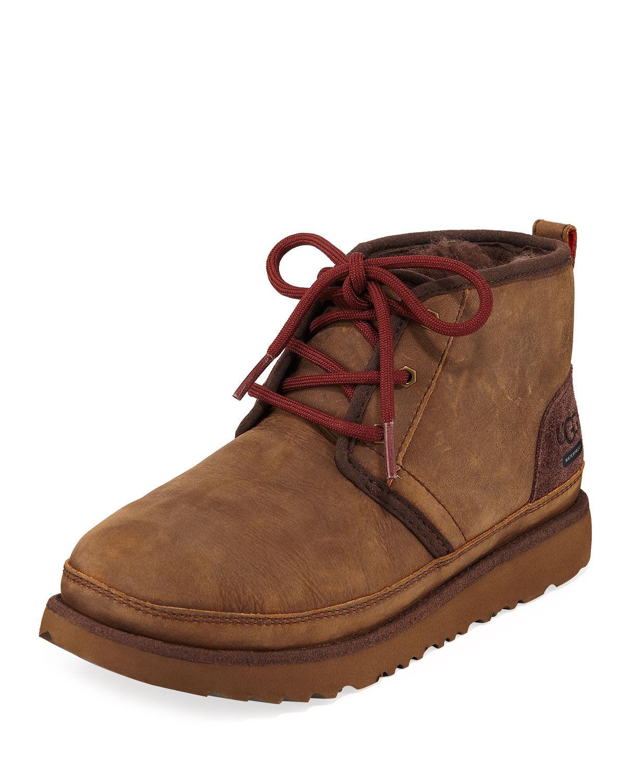 UGG Neumel II Waterproof Lace-Up Boots, Kids