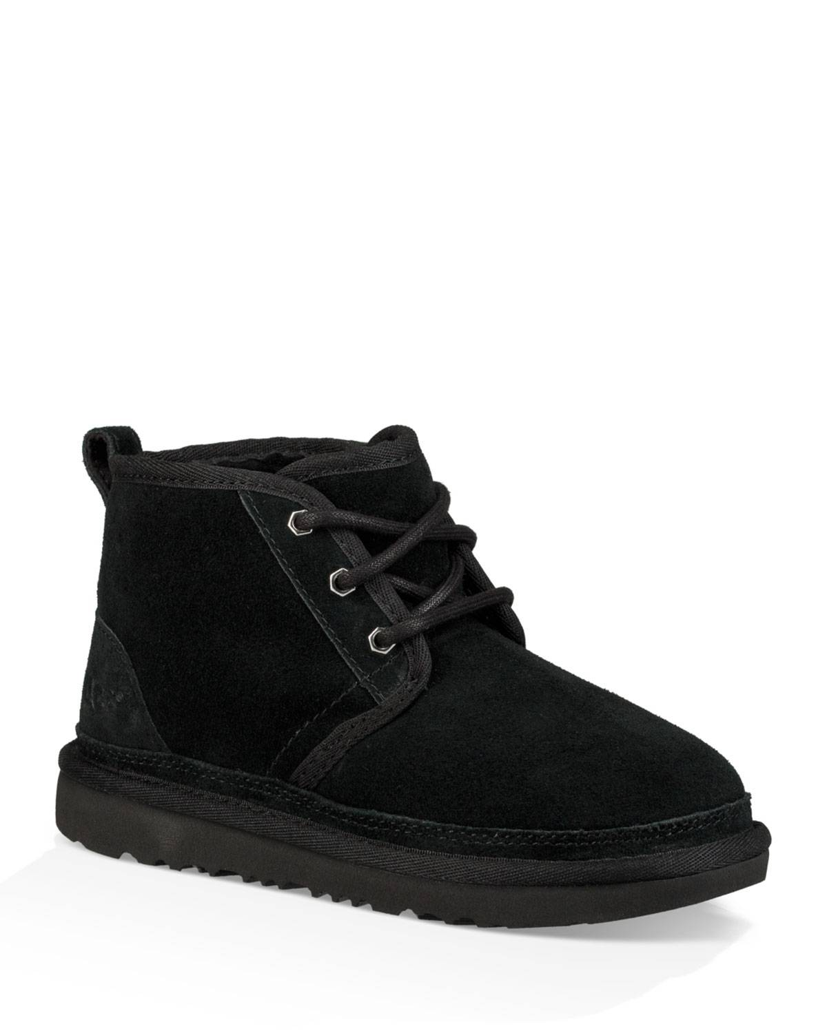 UGG Neumel Suede Lace-Up Boots, Kids