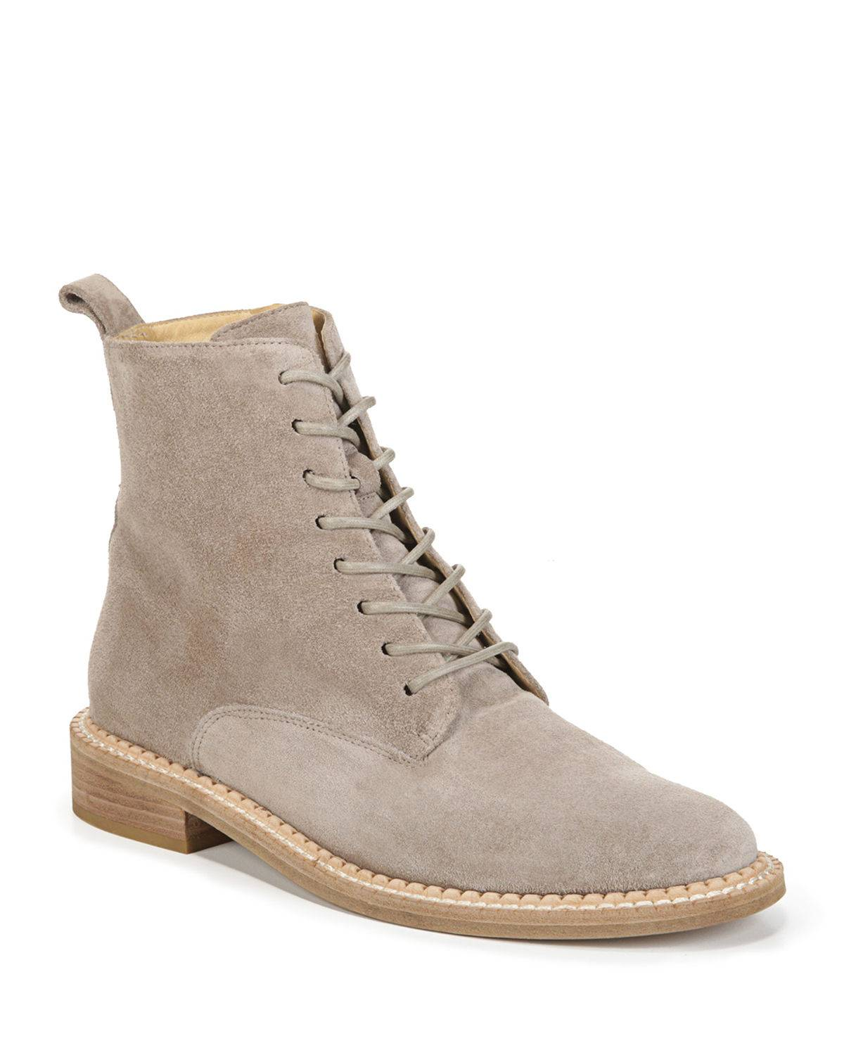 Vince Cabria Sport Suede Lace-Up Boot - Size: 10B / 40EU