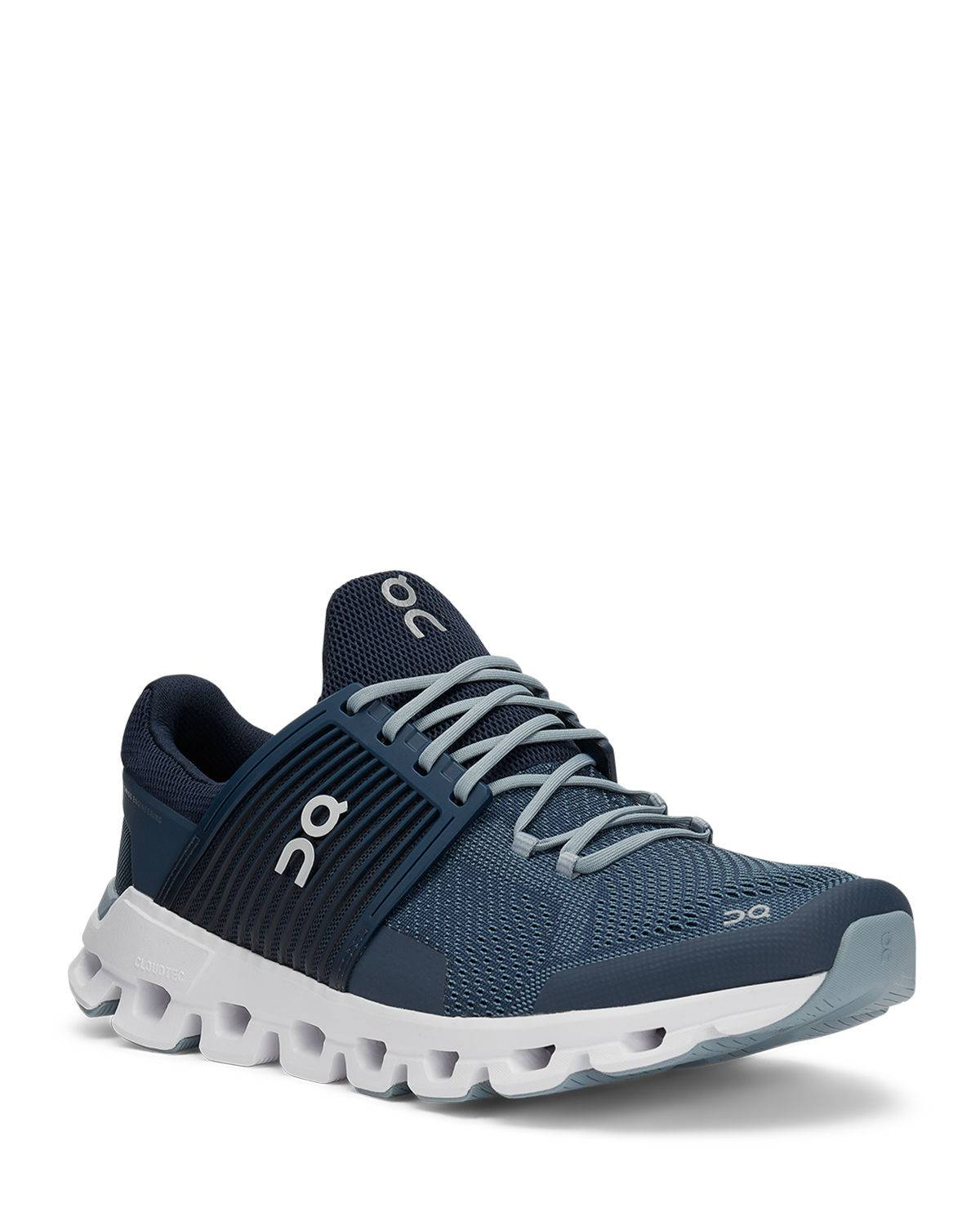 On Men's Cloudswift Cushioned Knit Sneakers