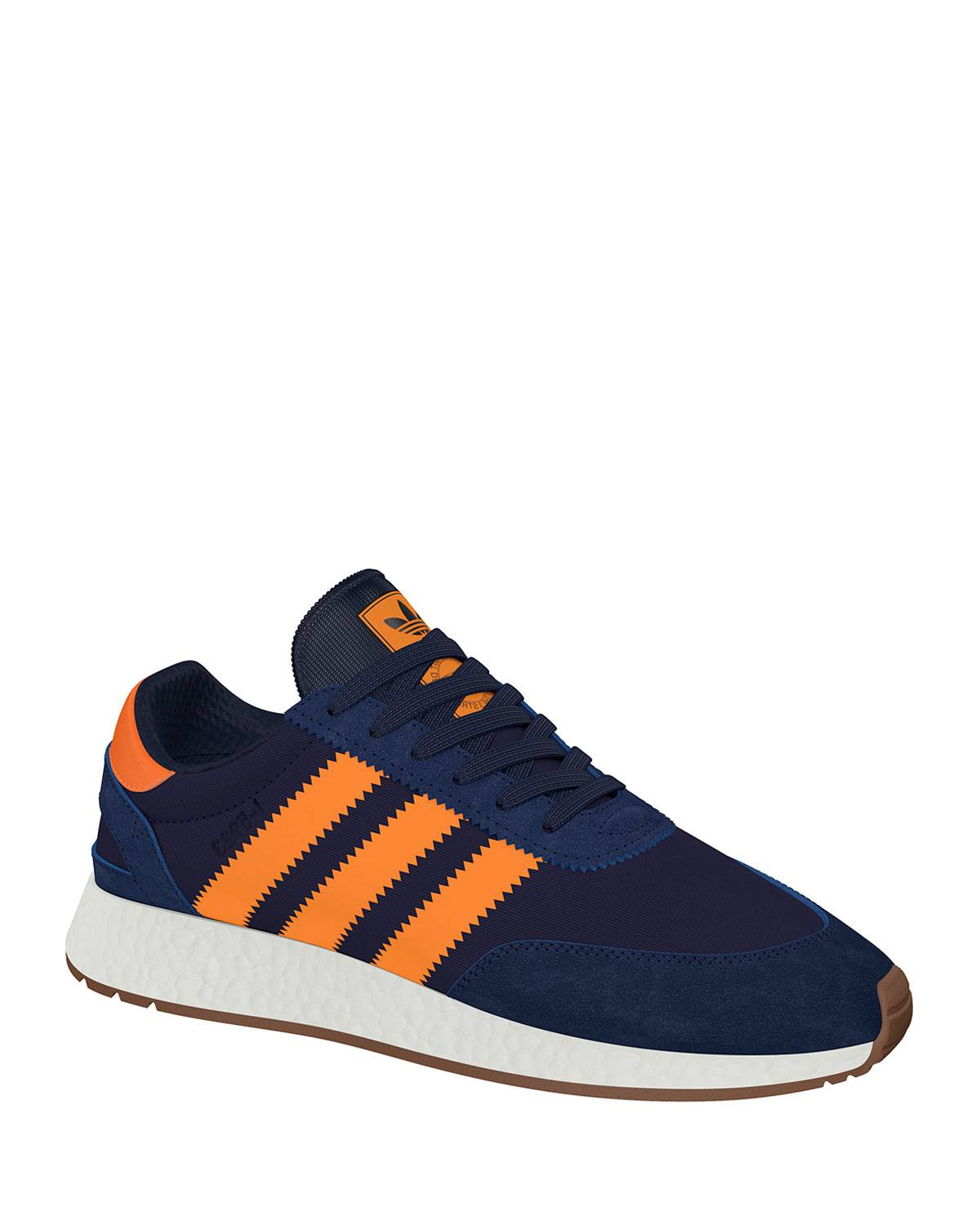 Adidas Men's I-5923 Trainer Sneaker, Blue