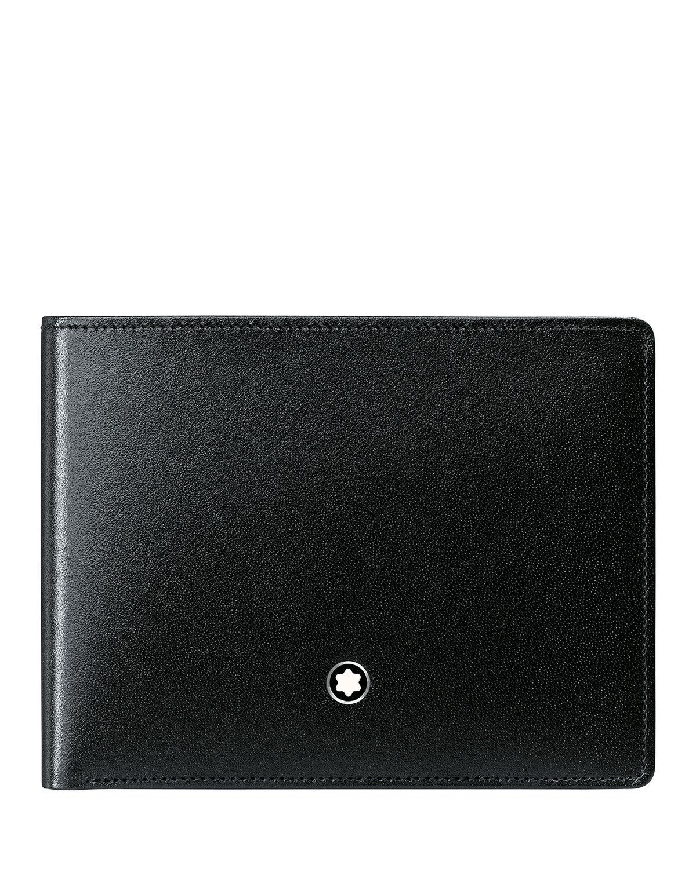 Montblanc Meisterstück Slim Leather Bifold Wallet, Black