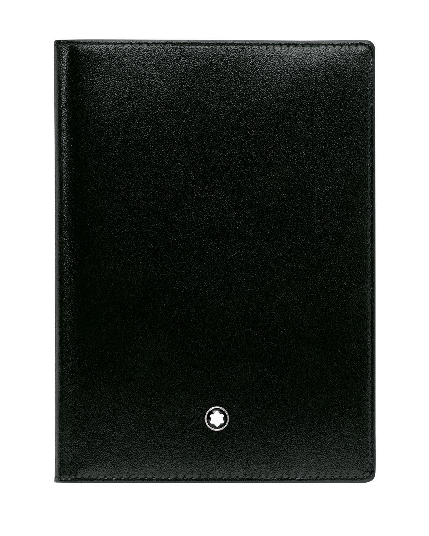 Montblanc Meisterstuck Leather Passport Holder, Black