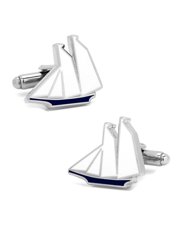 Cufflinks Inc. Enamel Sailboat Cufflinks