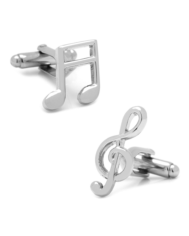 Cufflinks Inc. Music Note & Treble Clef Cufflinks