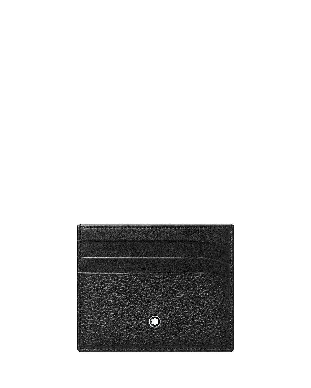 Montblanc Men's Meisterstuck Soft Grain Leather Card Holder