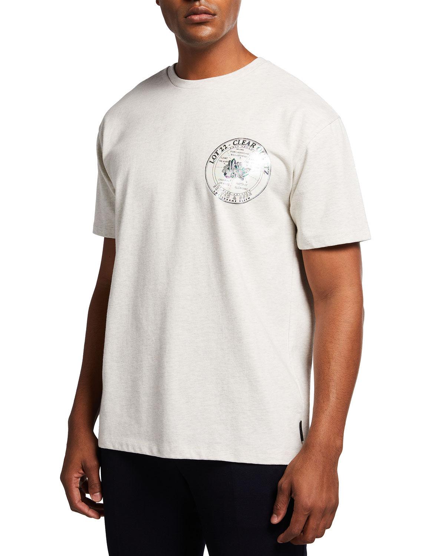Scotch & Soda Men's Lot 22 Chest Patch T-Shirt - Size: Large
