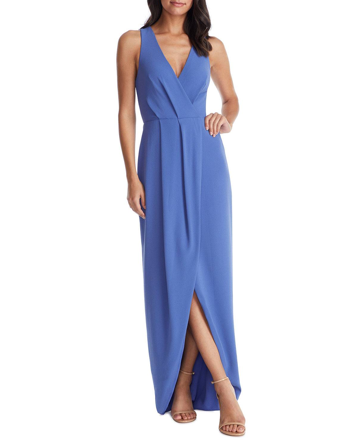 Dress The Population Ariel Sleeveless High-Low Gown