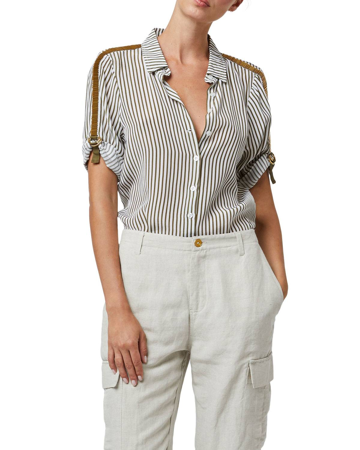 AS by DF Rossellini Blouse - Size: Medium