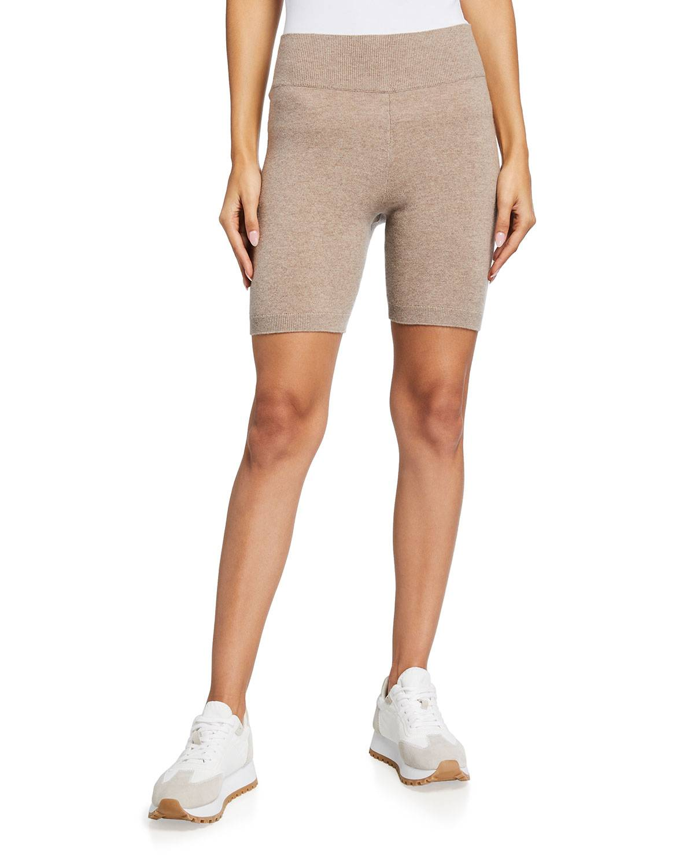 FRAME Cashmere Bike Shorts - Size: Small