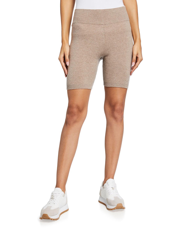 FRAME Cashmere Bike Shorts - Size: Large