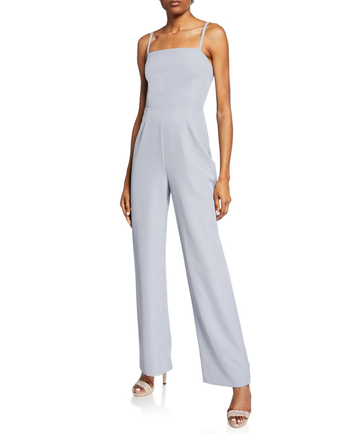 WAYF The Charlize Backless Jumpsuit