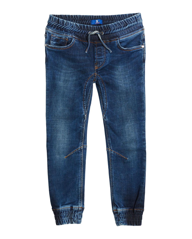 Stefano Ricci Kids' Denim Sport Trousers, Size 6-14 - Size: 6