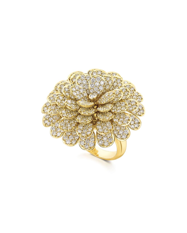 Hueb Secret Garden 18k Gold & Diamond Ring